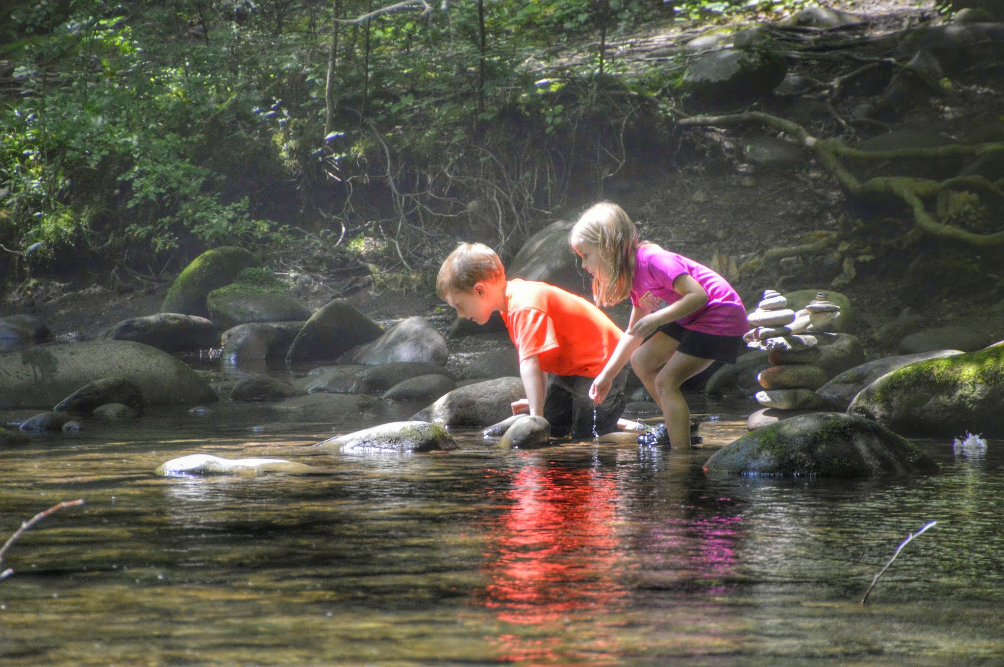 Great Smoky Mountains Creek Play
